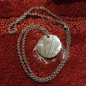 Men's/Women's Basketball Inspiration Necklace